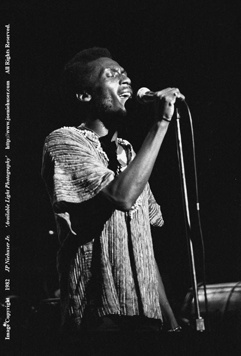 Image of Original 1982 Jimmy Cliff Limited Edition Fine Art Print