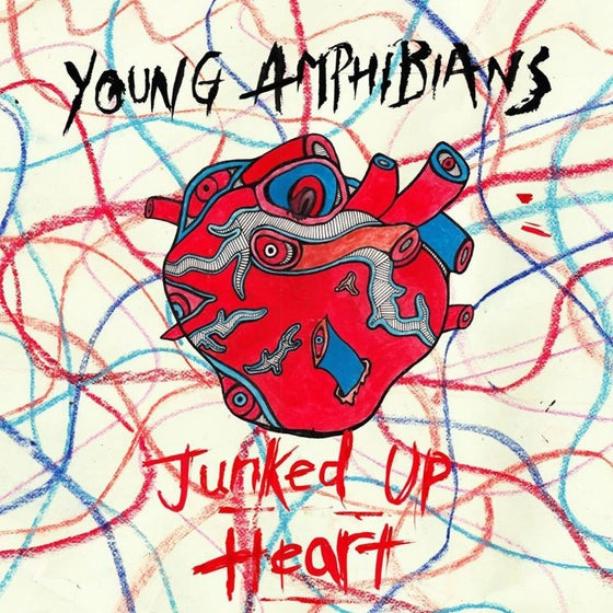 Image of Young Amphibians - Junked Up Heart EP Bundle