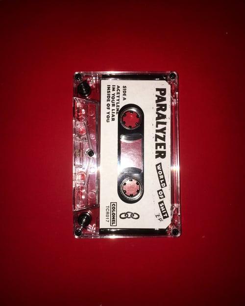 "Image of Paralyzer ""World of Shit"" cassette EP"