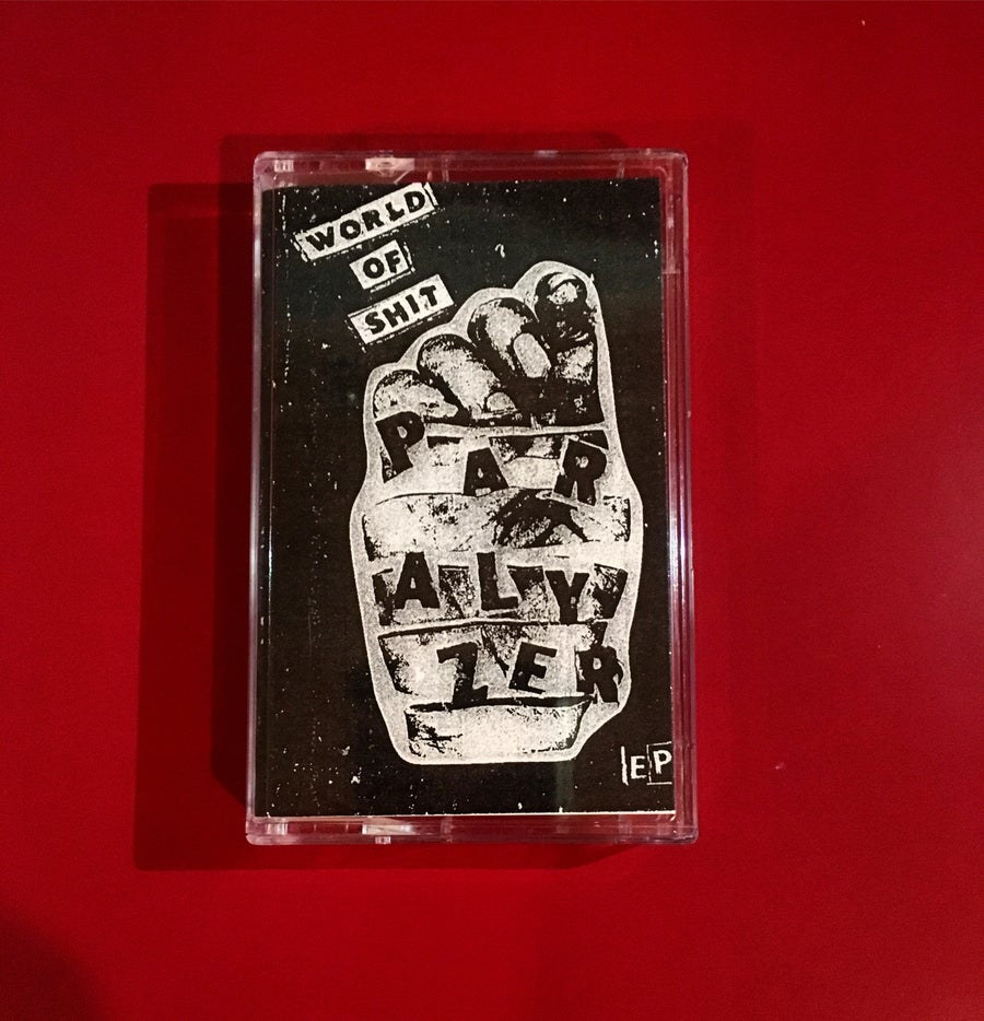 "Image of Paralyzer ""World of Shit"" cassette EP"