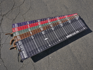 Image of Limited Edition Big Bass Measuring Board