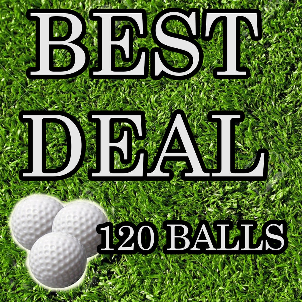 Image of BEST DEAL!!!! 120 BALLS