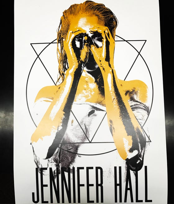 Image of Signed Jennifer Hall Poster