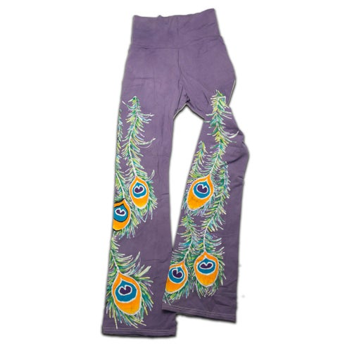 Image of Peacock Yoga Pants