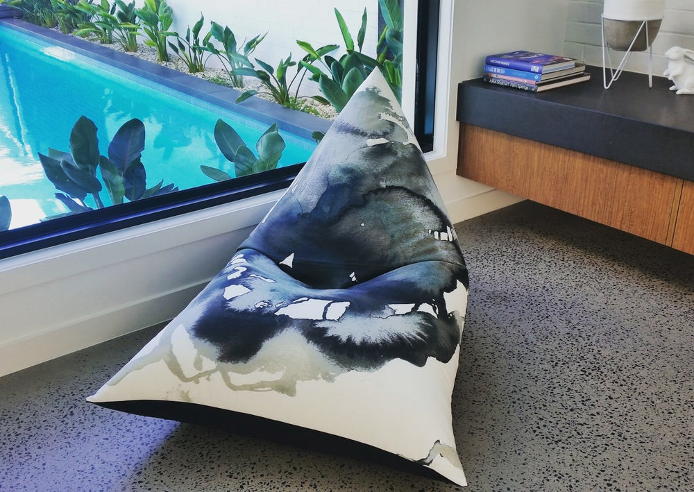 Image of Abstract Beanbag Cover