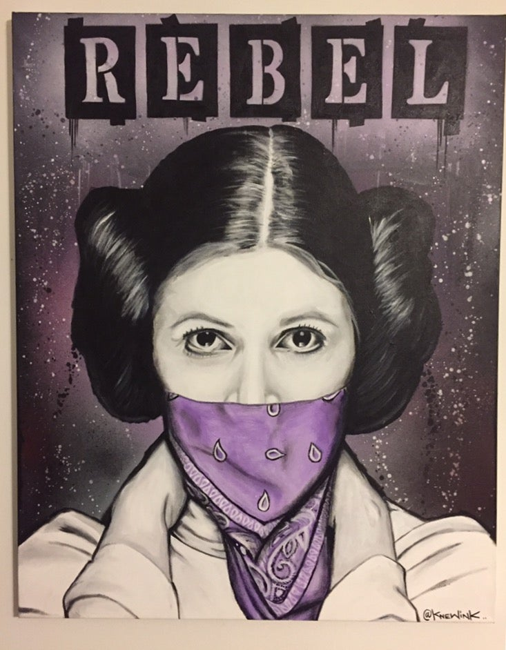 Image of REBEL PRINCESS print