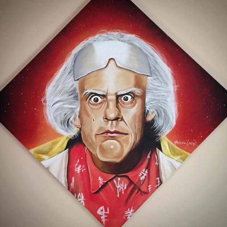 Image of DOC BROWN print