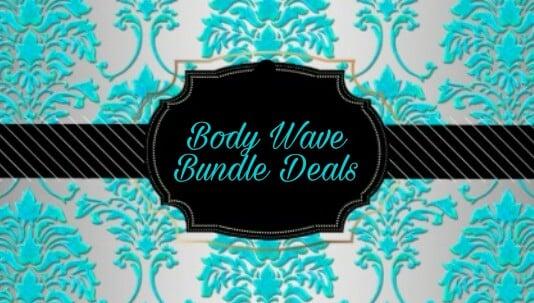 Image of Brazilian Body Wave Bundle Deal