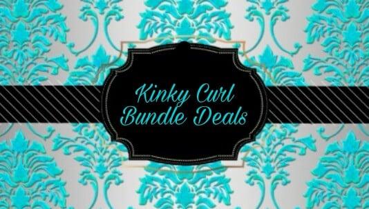 Image of Kinky Curl Bundle Deal