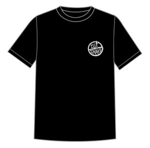 "Image of Black ""Keep it Simple"" Cut Snake t'Shirt"