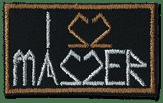 Image of I LOVE MASZER - Patch