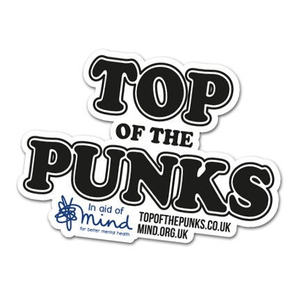 Image of Top Of The Punks - Sticker