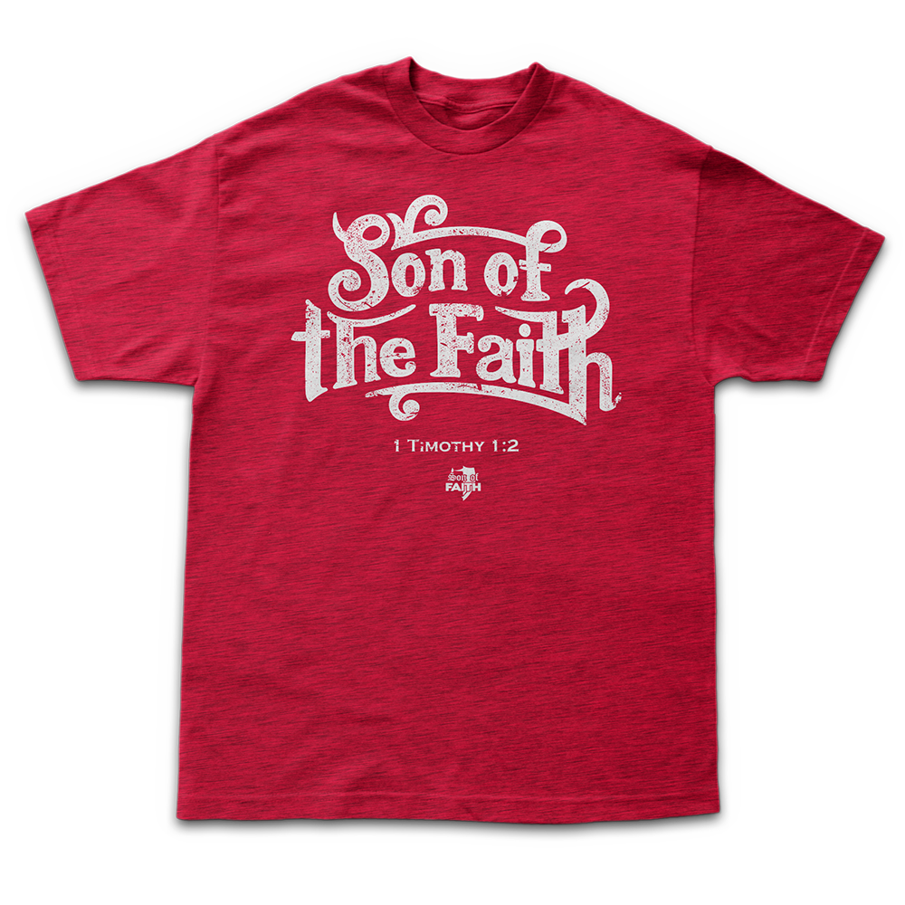 Image of Son Of Faith - Antique Cherry Red