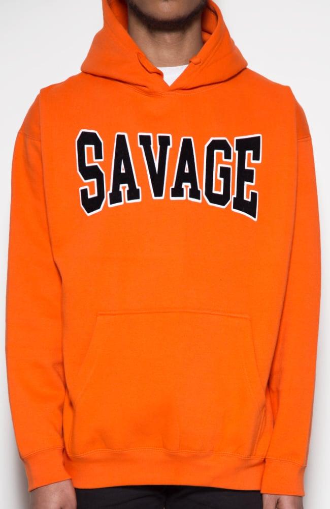 Image of Savage HS Hoodie (orange)