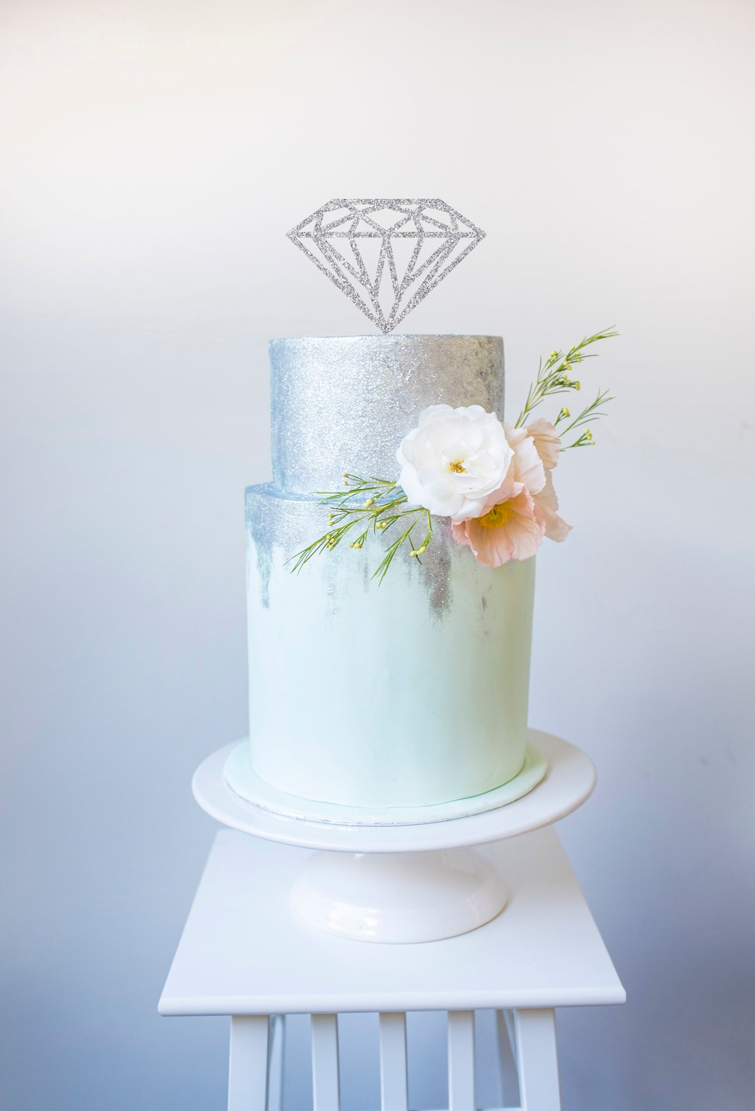 Image of Diamond Cake Topper