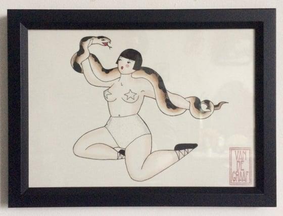 Image of Snake lady