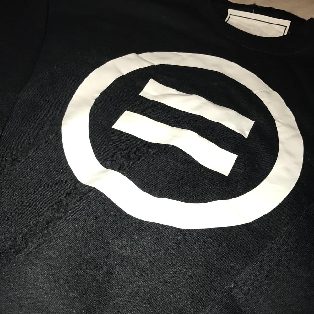 Image of Signature Equal Logo Crewneck in Black