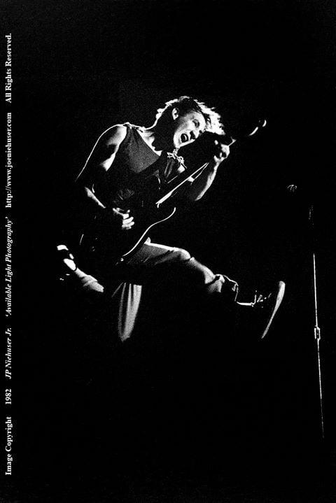 Image of Original 1982 Pete Townshend Limited Edition Fine Art Print