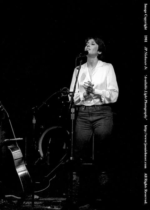 Image of Original 1981 Joan Baez Limited Edition Fine Art Print