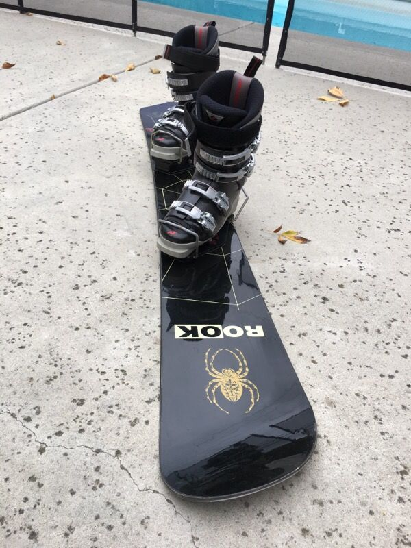 Image of Rook Psycho-Active 156cm Alpine Carving,Race Snowboard with Sony Houmer Race bindings