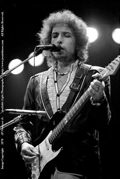 Image of Original 1978 Bob Dylan Limited Edition Fine Art Print