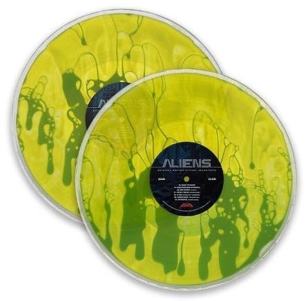 Image of Aliens OST Xenomorph Blood Edition Vinyl - Art by Kilian Eng
