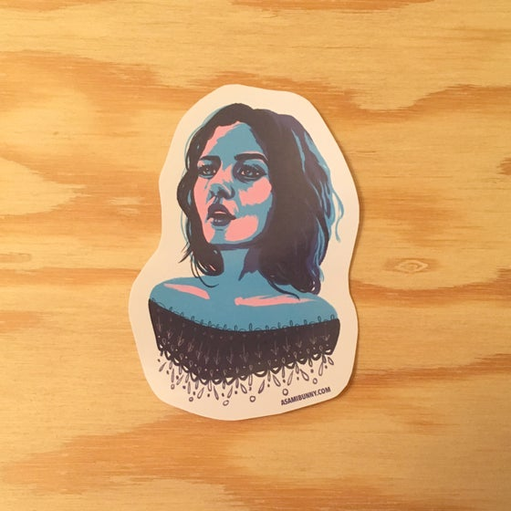 Image of Blue Haze Sticker