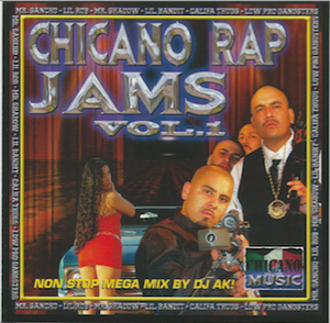 Image of Chicano Rap JAM VOL 1 GREAT CLASSIC