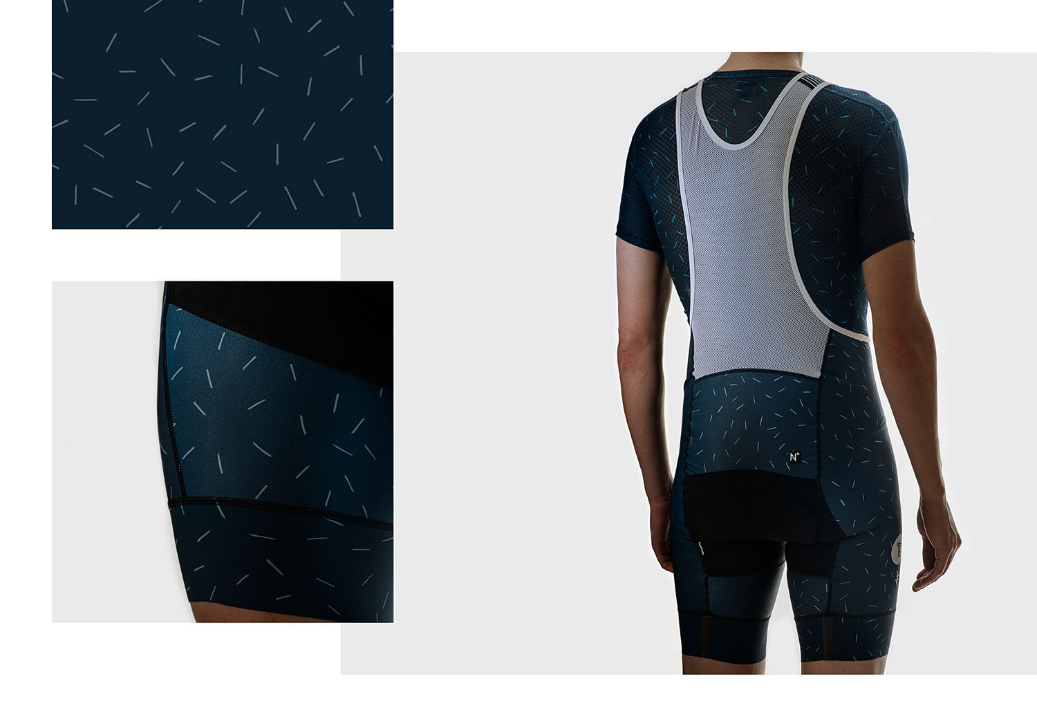 Image of Steel Nth Series Bib Shorts