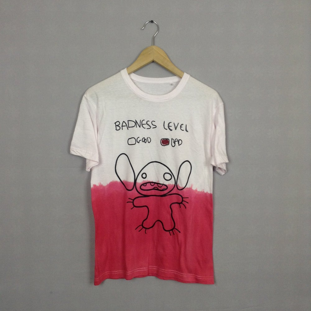 Image of Disney Inspired Lilo & Stitch Badness Level T-shirt