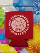 Image of RED BEVERAGE KOOZIE