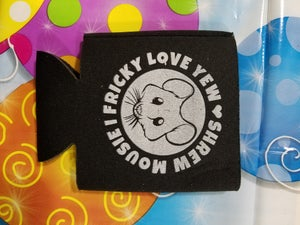 Image of BLACK BEVERAGE KOOZIE