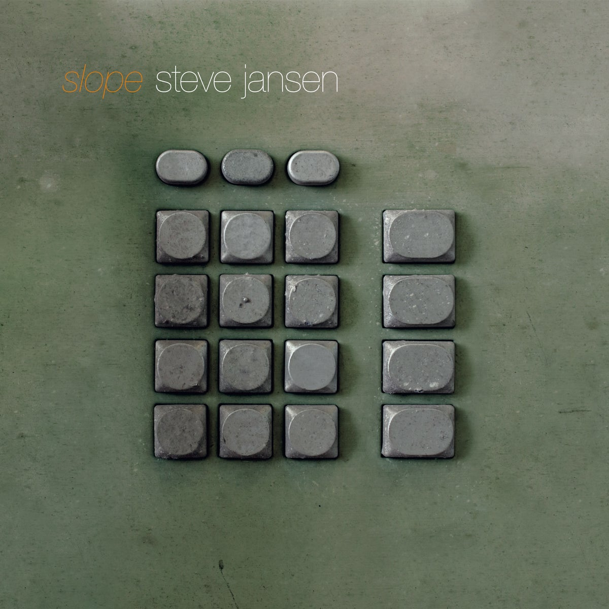 Image of Steve Jansen - Slope 2×LP