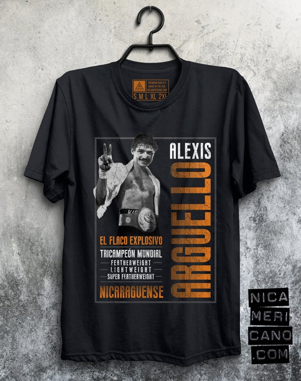 Image of Alexis Argüello Tee Shirt