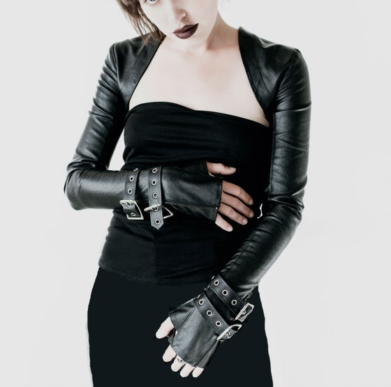 Image of KRELIK vegan leather sleeves