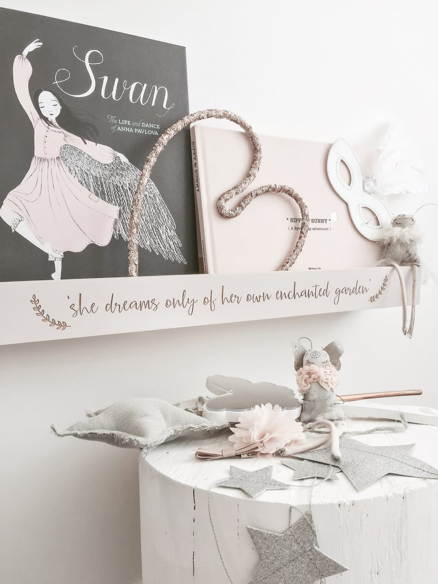 Image of Personalised quote shelving