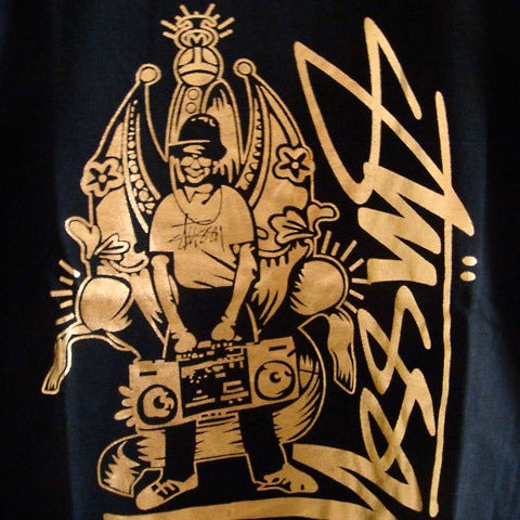 "Image of STUSSY ""ROCKIN IT"" Tee"