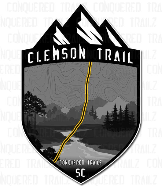 "Image of ""Clemson Trail"" Trail Badge"