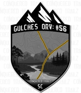 "Image of ""Trail 56"" Trail Badge"