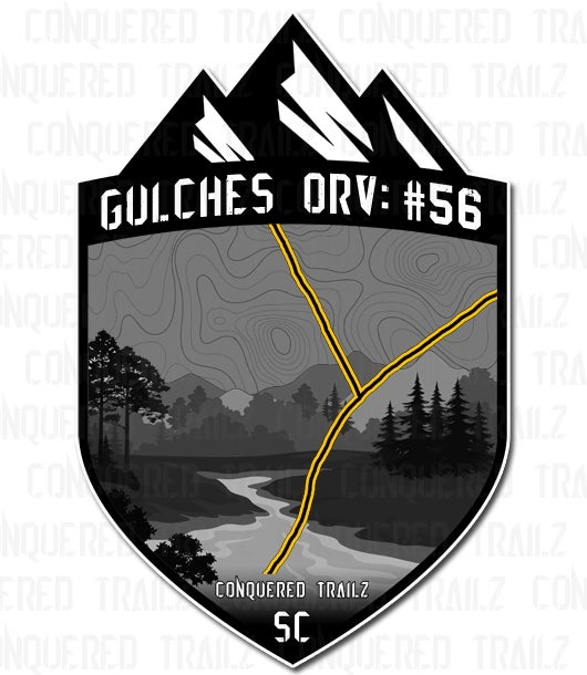 """Image of """"Trail 56"""" Trail Badge"""