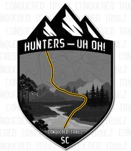 "Image of ""Hunters - Uh Uoh!"" Trail Badge"