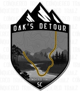 "Image of ""Oak's Detour"" Trail Badge"