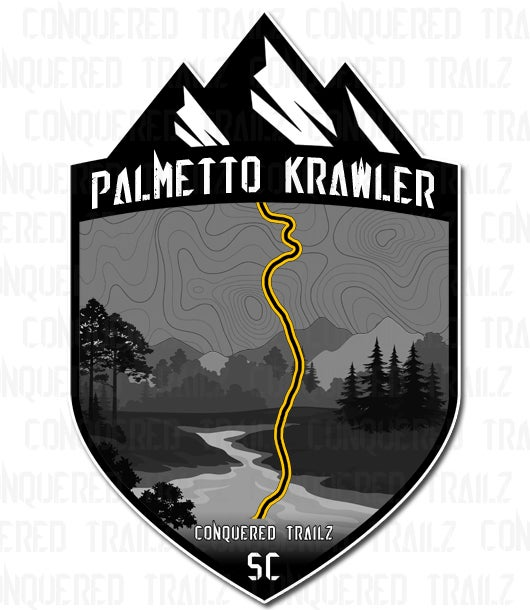 "Image of ""Palmetto Krawler"" Trail Badge"