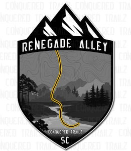 "Image of ""Renegade Alley"" Trail Badge"