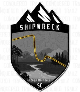 "Image of ""Shipwreck"" Trail Badge"