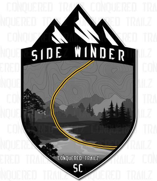 "Image of ""Side Winder"" Trail Badge"