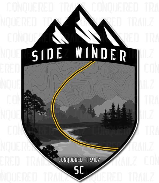 """Image of """"Side Winder"""" Trail Badge"""