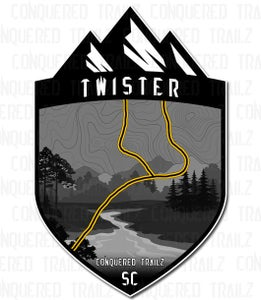 "Image of ""Twister"" Trail Badge"