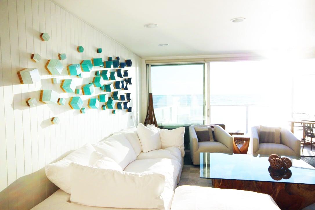 ... Image Of Wood Wall Sculpture | Modern Wall Decor | 3D Wall Art |  Original Art