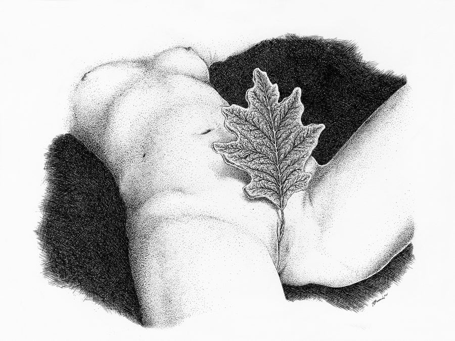 Image of The Clitoral Leaf [giclée print]